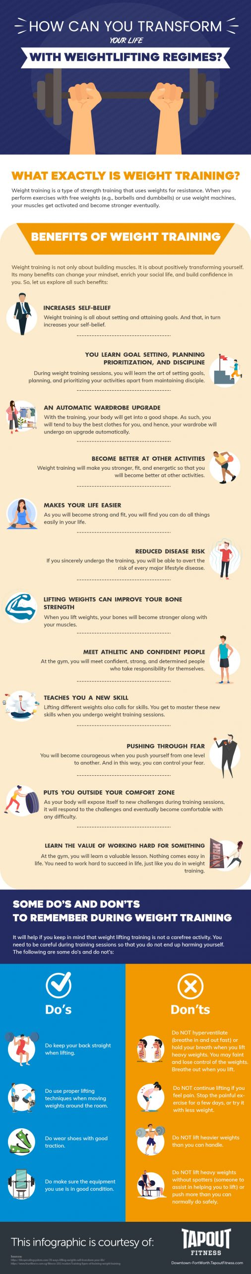 What You Should Not Do During Weight Training Sessions