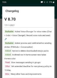 latest version of FMWhatsApp